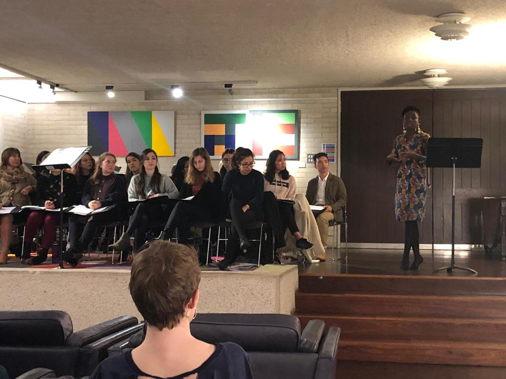 Music and Words Event with Inter Alios (Jan 2020)